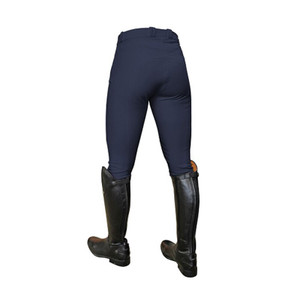 Mark Todd Ladies Coolmax Grip Breeches - Navy