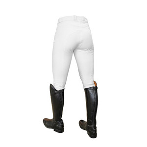 Mark Todd Ladies Coolmax Grip Breeches - White