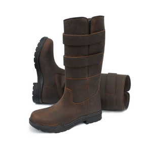 Rhinegold Mens Elite Colorado Boot - Brown