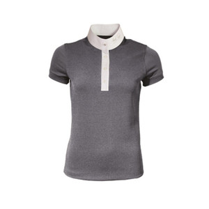 Mark Todd Alicia Ladies Competition Polo Shirt - Grey