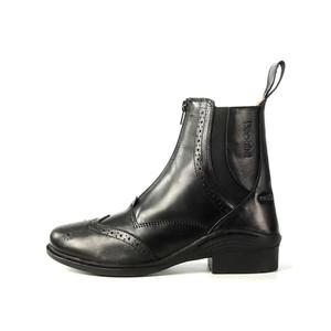 Brogini Epsom Italian Leather Jodhpur Boot - Black