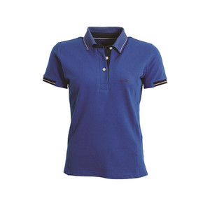 Mark Todd Betty Short Sleeve Polo Shirt - Royal Blue