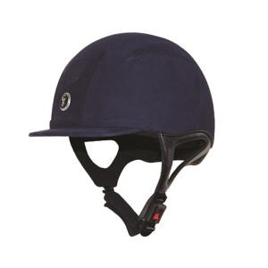 Gatehouse Challenger Riding Hat Suede - Navy