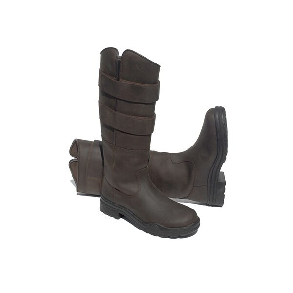 Rhinegold Elite Colorado Long Leather Country Boots - Childrens