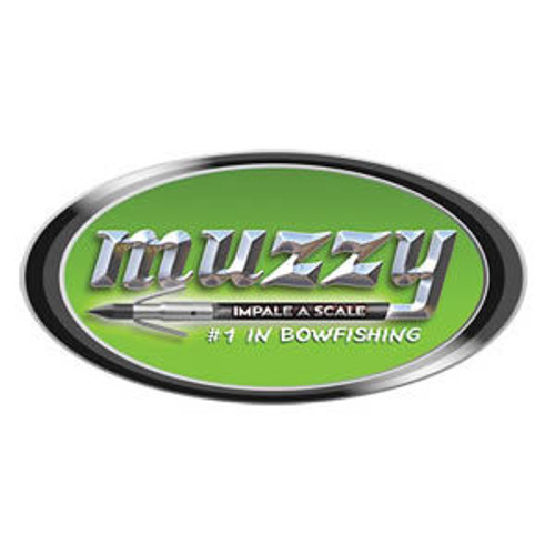 "MUZZY ""Impale a Scale""10"" Oval Decal"