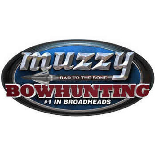 "Muzzy Bad To The Bone"" 10"" Oval Decal"