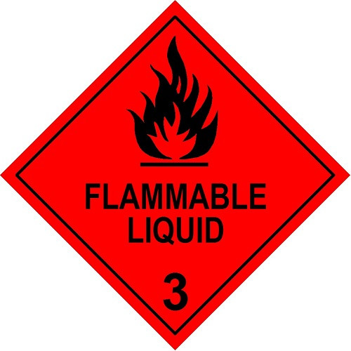 Flammable Liquid 3 (Model No 3)