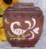 Brayton Laguna Cookie Jar in Webton Ware Dutch Dove California Pottery Vintage Mid Century 1940s Designer Gift