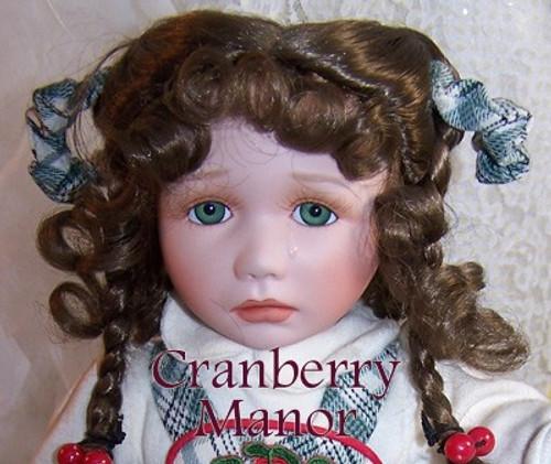 Connie Walser Derek Jane Bisque Porcelain Toy Doll for the Hamilton Collection Vintage 1990s Designer Gift