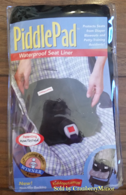 Piddle Pad, Waterproof Seat Liner by Kiddopotumus, for Baby $15