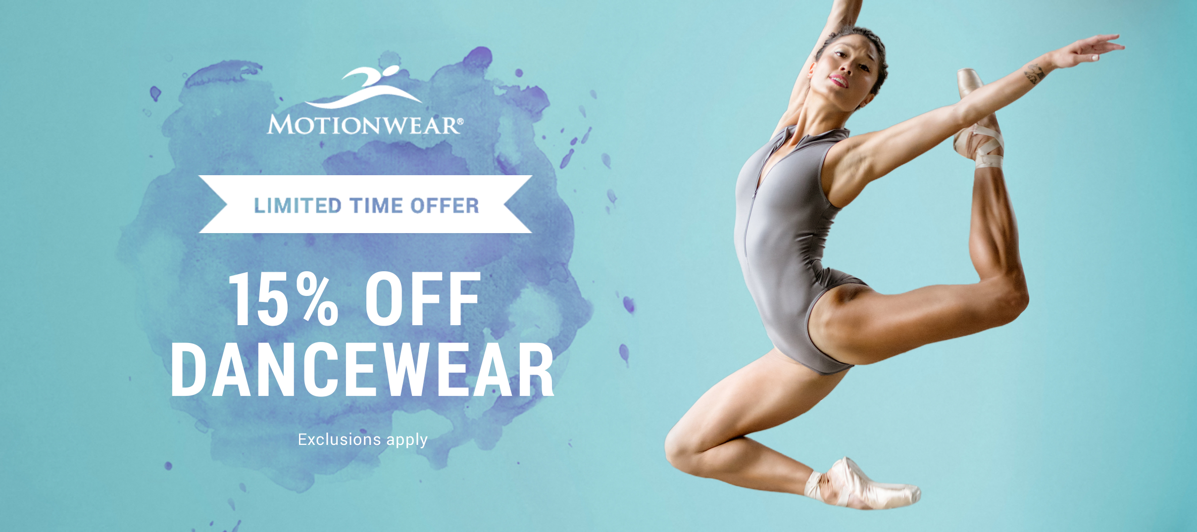 15% Off Dancewear