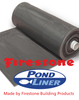 Firestone Pond Liners 1mm 20 Ft (6.10m) Wide