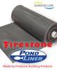 10 x 10 Ft Firestone Pond Liner
