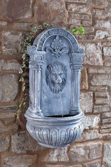 Blagdon Liberty Lion Wall Fountain