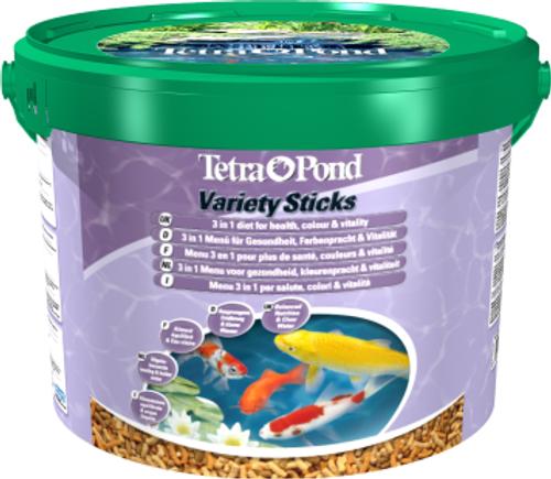 Tetra Pond Variety Sticks 10 Litre Bucket