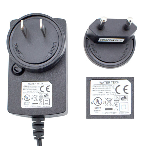 PBA099-8-US-EU-Quick charge US battery charger with European adapter for Pool Blaster Max CG, Millennium,Eclipse XL, Volt FX-8