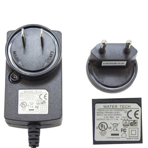 PBA099-US-EU-Quick charge battery charger with European adapter for Pool Blaster Max, Max HD, iVac M3, iVAC 350 and Speed Vac