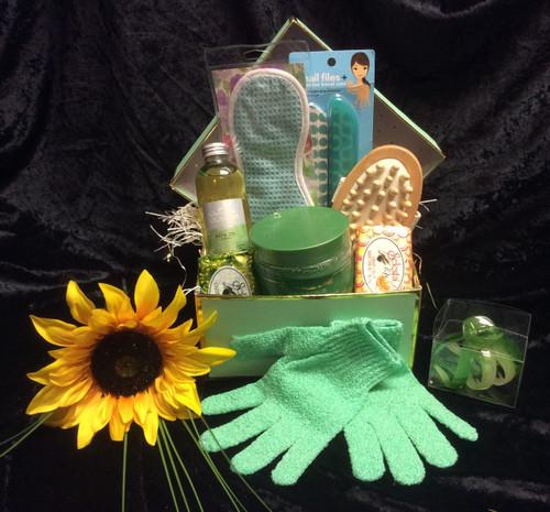 Luxury Tea Tree Spa Box Gift Basket