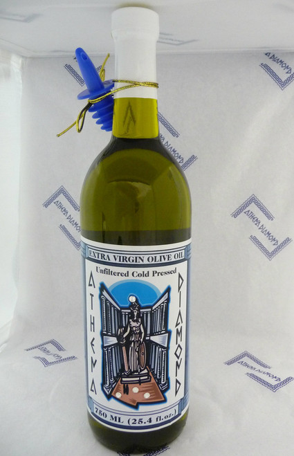Athena Diamond Cold Pressed Extra Virgin Olive Oil 750ml (25.4 fl.oz.)