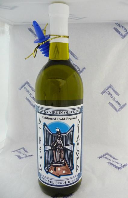 Athena Diamond Cold Pressed Extra Virgin Olive Oil 750ml (25.4 fl.oz.)