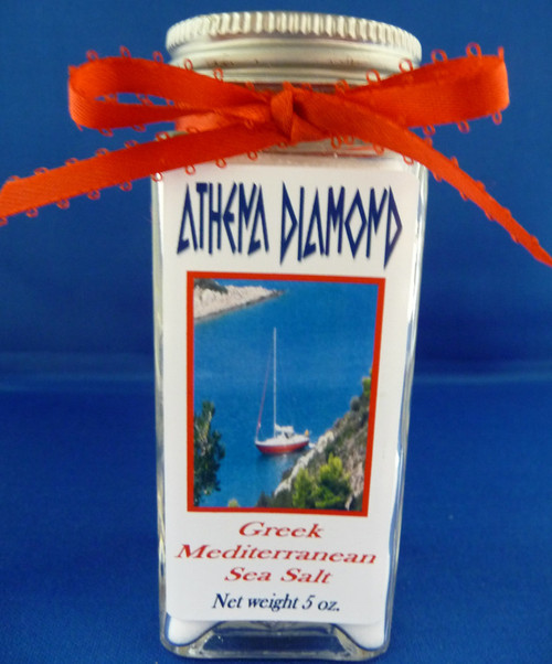 Athena Diamond Greek Mediterranean Sea Salt 5oz.