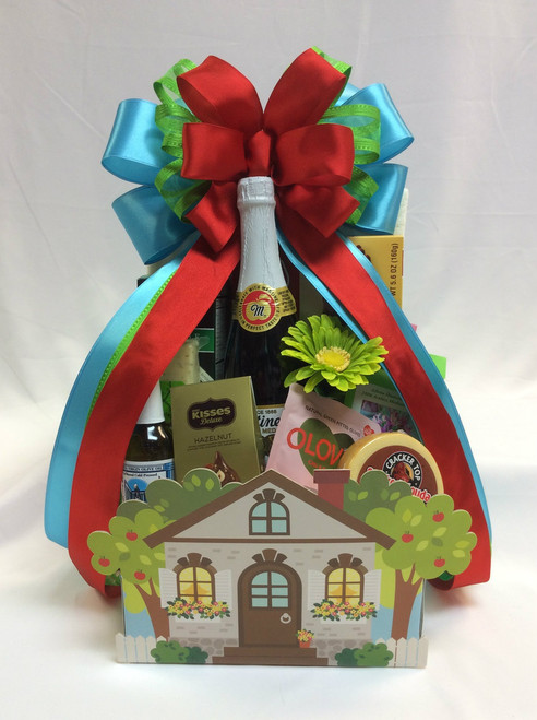 Spring Into Summer Welcome Home Basket