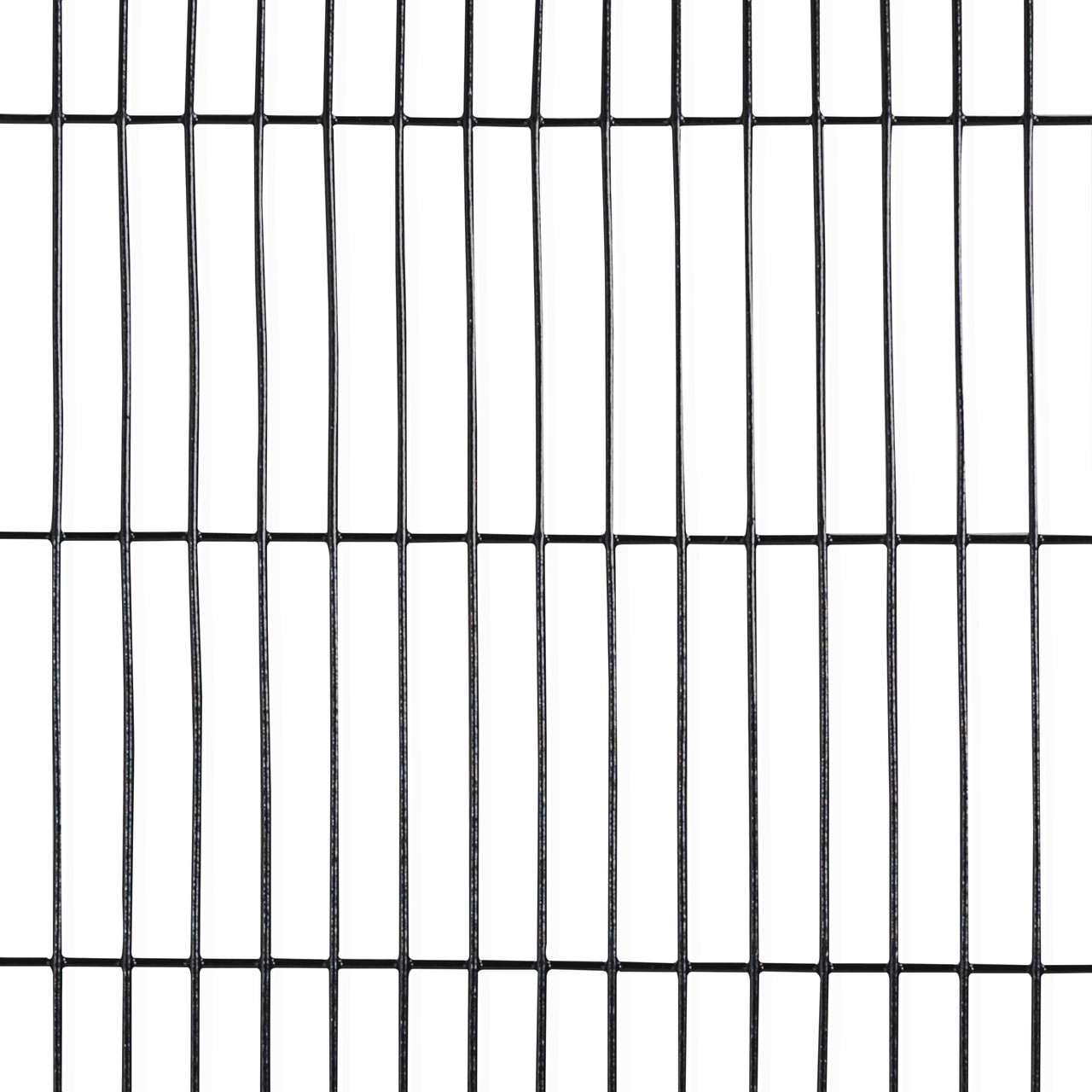 16 Gauge Black Vinyl Coated Welded Wire Mesh Size 0.5 inch by 3 ...