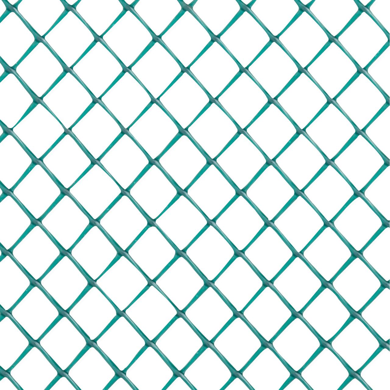 Green Diamond Plastic Poultry Netting 2 ft. x 25 ft. & 3/4\
