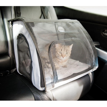 Pet Products Travel Safety Carrier Gray
