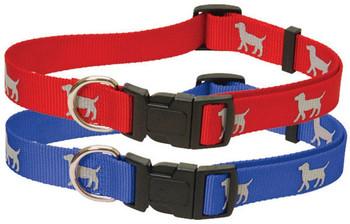 "Reflective Hound Series Collars, 5/8"" x 10-16"""