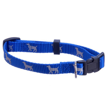 "Reflective Hound Series Collars, 3/4"" x 14-22"""