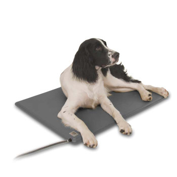 """DELUXE LECTRO-KENNEL LARGE GRAY 22.5"""" x 28.5"""""""