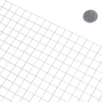 "19 Gauge Galvanized Hardware Cloth with Mesh Size 1/2"" x 1/2"""