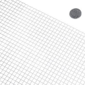 "23 Gauge Galvanized Hardware Cloth with Mesh Size 1/4"" x 1/4"""