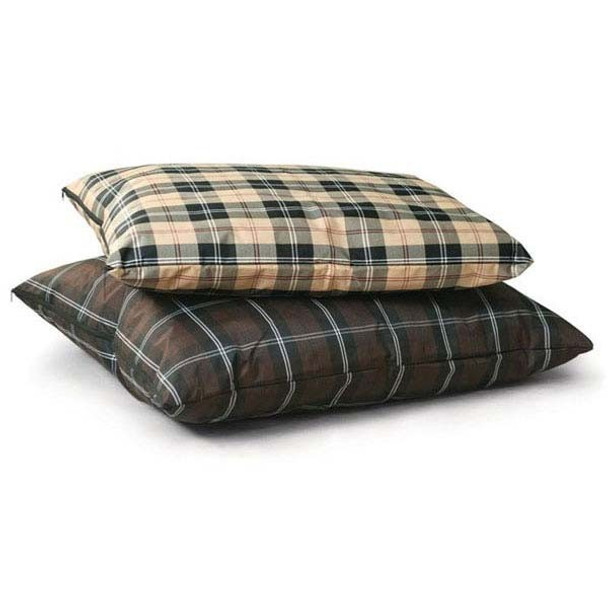 Indoor and Outdoor Single-Seam Plaid