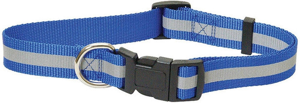 "Jeffers Adjustable Reflective Collar, 3/4"" (14""-22"")"