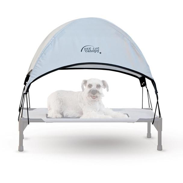 "K&H Pet Products Pet Cot Canopy Large Tan 30"" x 42"" x 28"""