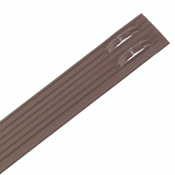 "Sure-Loc 1/8"" x 4"" x 8' Professional Aluminum Landscape Edging Brown Paint"