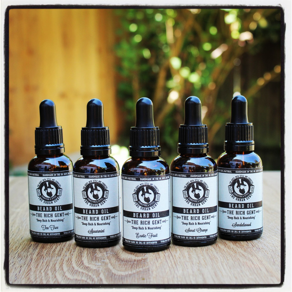 The Rich Gent- Sweet Orange Beard Oil - 30ml