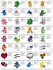 HUGE SET 100++ CARE BEARS CARTOON  DISNEY EMBROIDERY MACHINE DESIGNS INSTANT DOWNLOAD