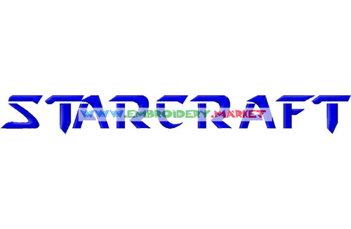 STAR CRAFT Machine Embroidery Designs Fonts Instant Download