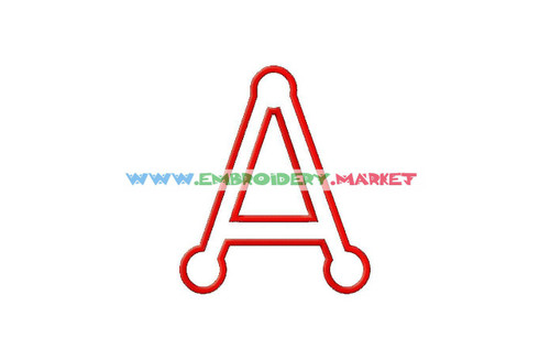 VINGY APP3 Machine Embroidery Designs Fonts Instant Download