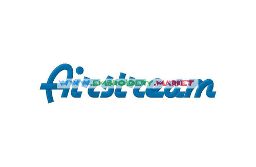 AIR STREAM Machine Embroidery Designs Fonts Instant Download