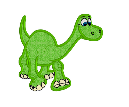 THE GOOD DINOSAUR ARLO APPLIQUE CARTOON CHARACTER EMBROIDERY MACHINE DESIGNS INSTANT DOWNLOAD