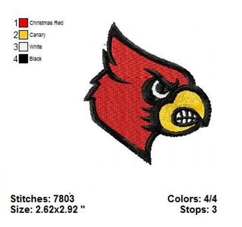 Arizona Cardinals professional American Football NFL Embroidery Designs