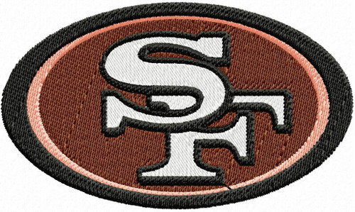 San Francisco 49ers Pro football Machine Embroidery Designs