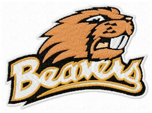 Oregon State Beavers Sports Team Machine Embroidery Designs Instant Downlaod