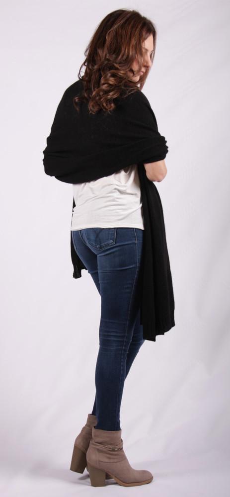 Violet Cashmere Wrap