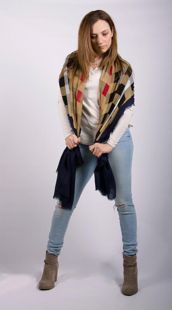 May Wool & Silk Blend Shawl