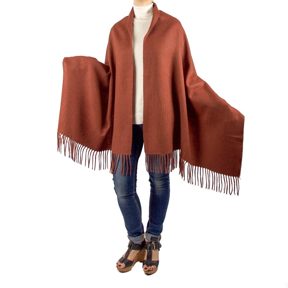 London  Oversized Cashmere & Wool Blend Scarf